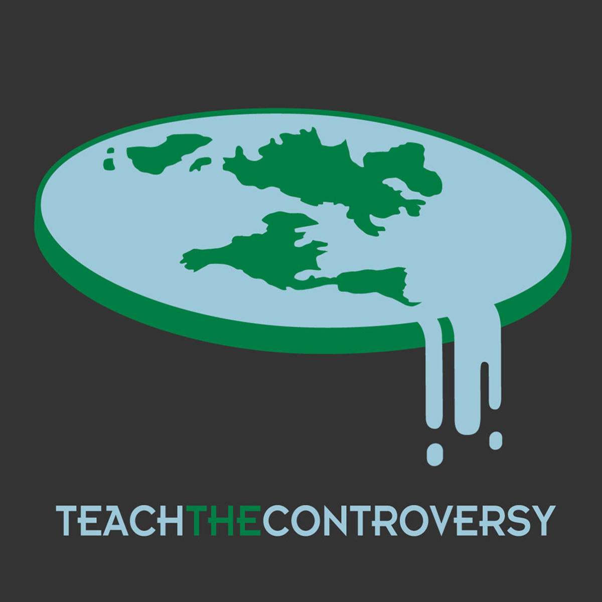 The Flat Earth idea is believed around the globe. Credit: Teach the Controversy