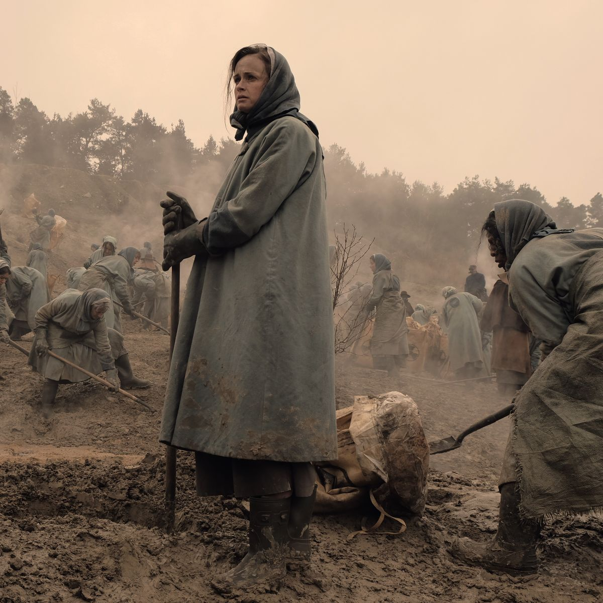 The Handmaid's Tale - Alexis Bledel as Emily in the colony