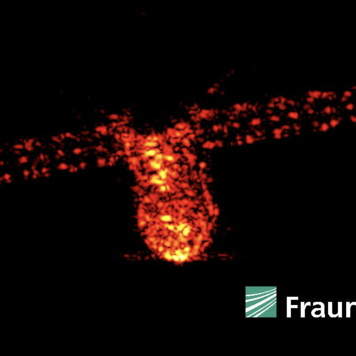 An image of Tiangong-1 shortly before it re-entered made using radar from the ground. Credit: Fraunhofer FHR