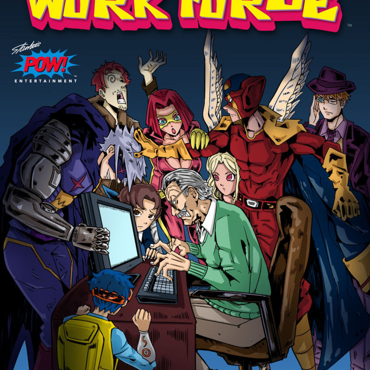 Entertainment releasing online comic Stan Lee's Work Force - see the cover