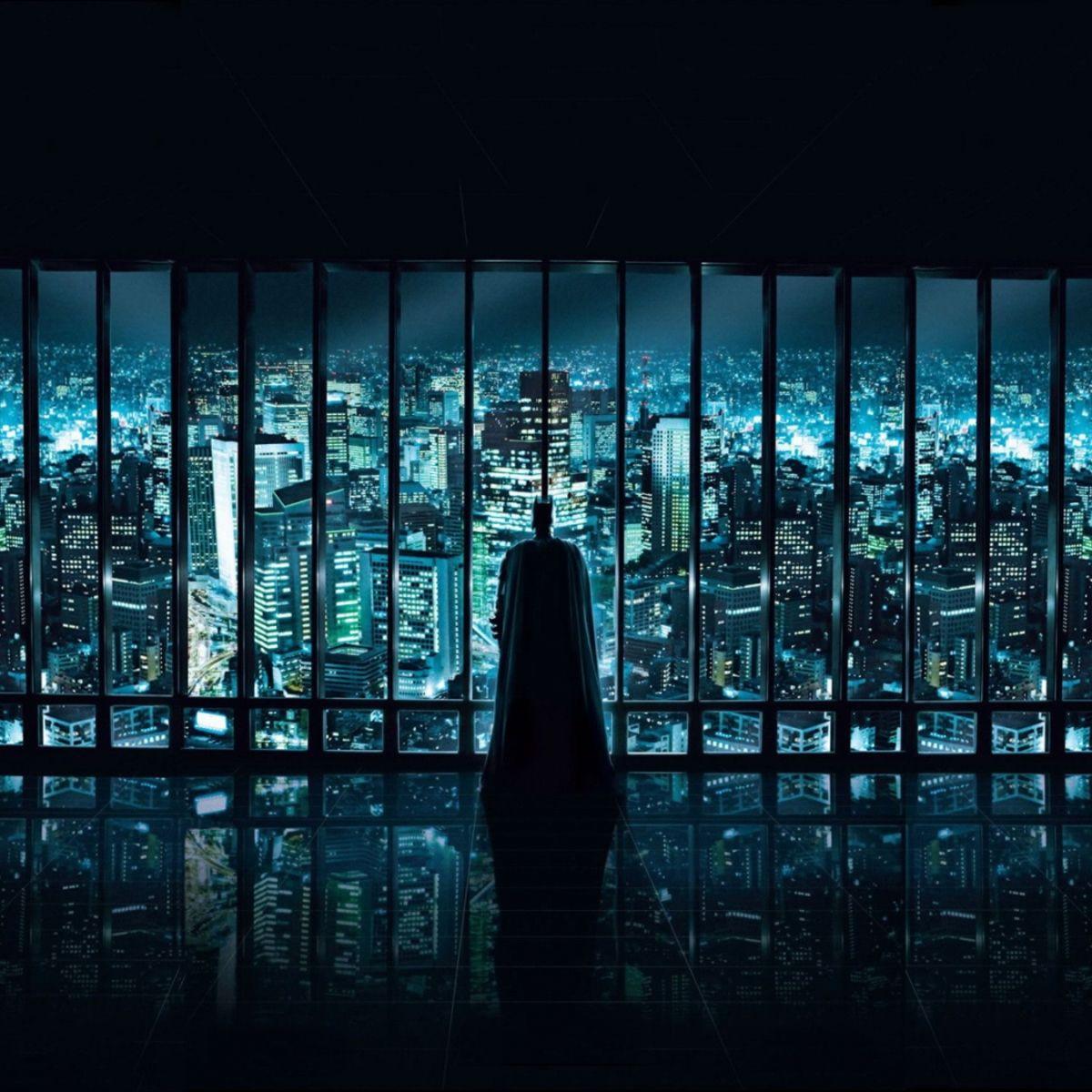 1492 Batman Looking At Gotham City Wallpaper Wallchan