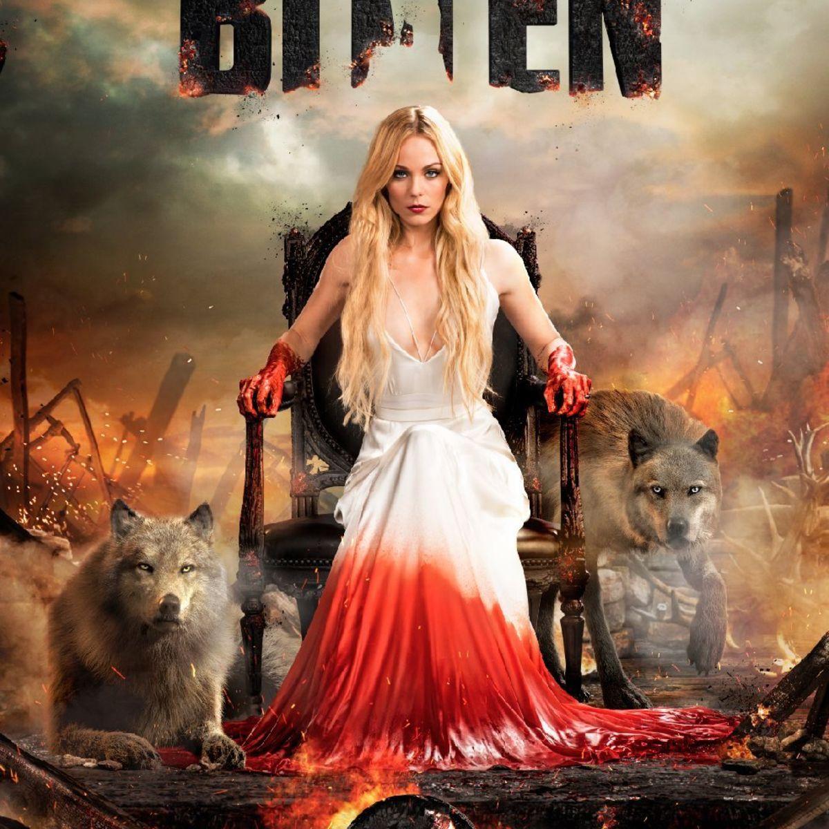 werewolf drama bitten wolfs out with 9 new dramatic season 3 posters