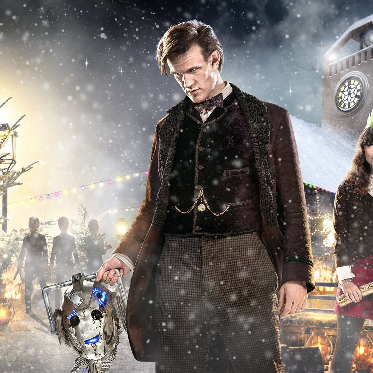 BBC\'s Xmas trailer reveals new footage from The Time of the Doctor ...