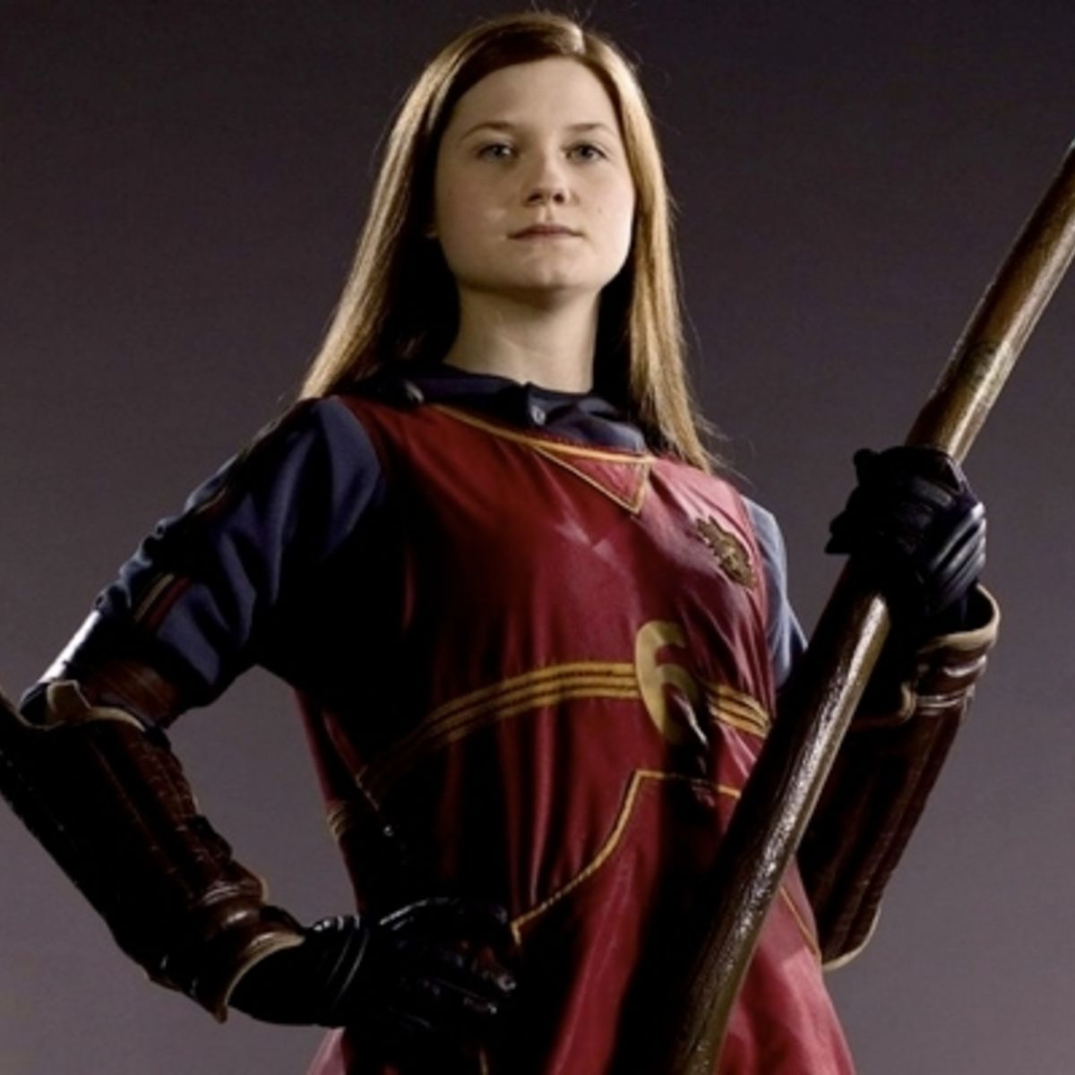 j k rowling gives harry potter fans a look of ginny weasley s post
