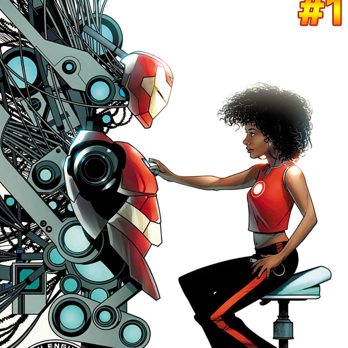 Marvel reveals Riri Williams\' new Invincible Iron Man code name ...