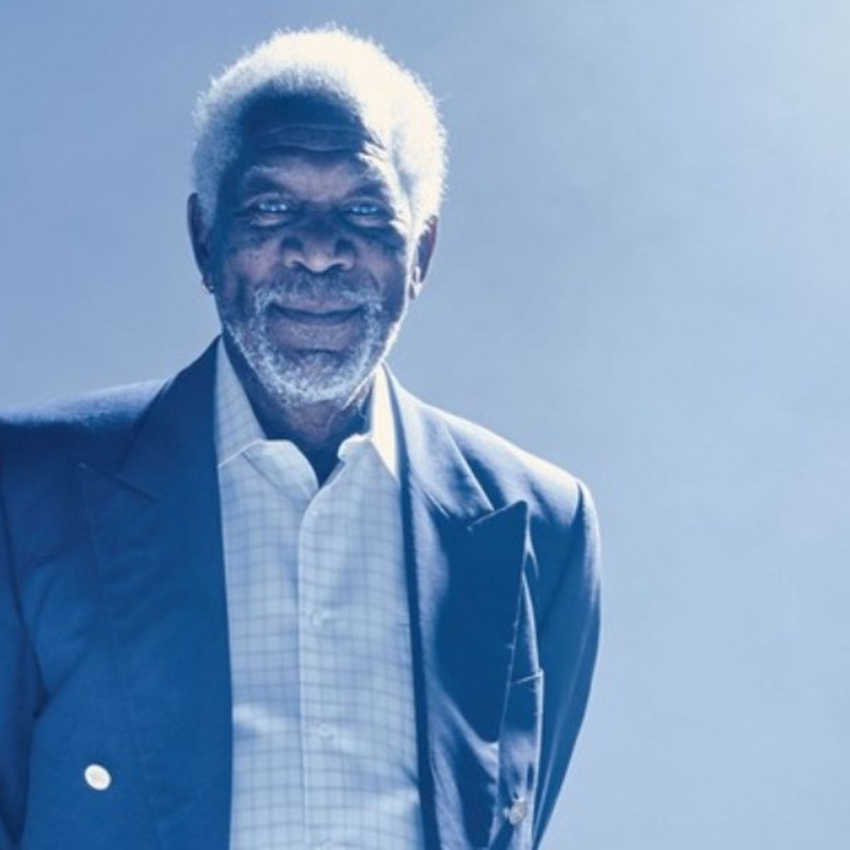 Exclusive: Morgan Freeman explores the soul of A.I. in Story of God ...