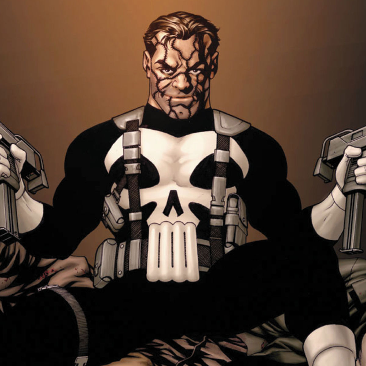the punisher inspires soldiers and cops worldwide and that s not a