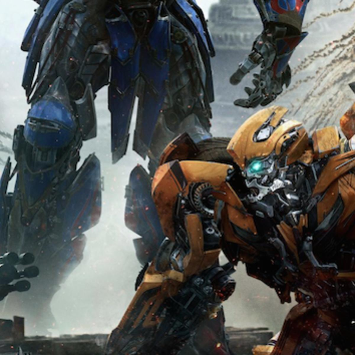 image of the day optimus and bumblebee rumble in new transformers