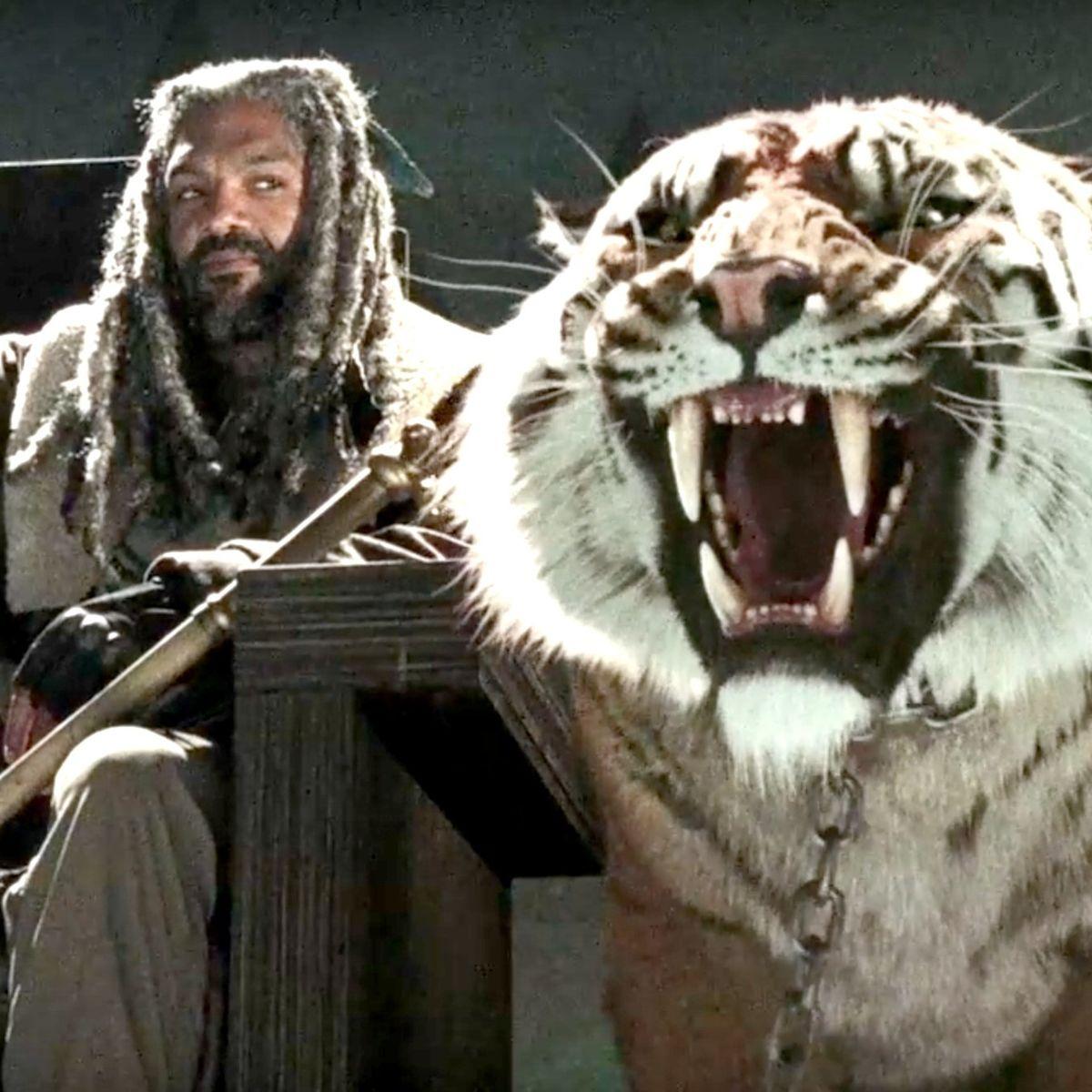 The Walking Dead - King Ezekiel and Shiva