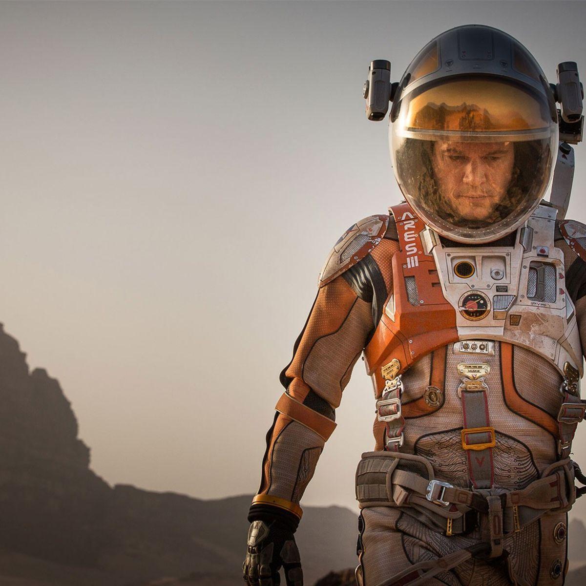 Matt Damon survives on Mars in The Martian