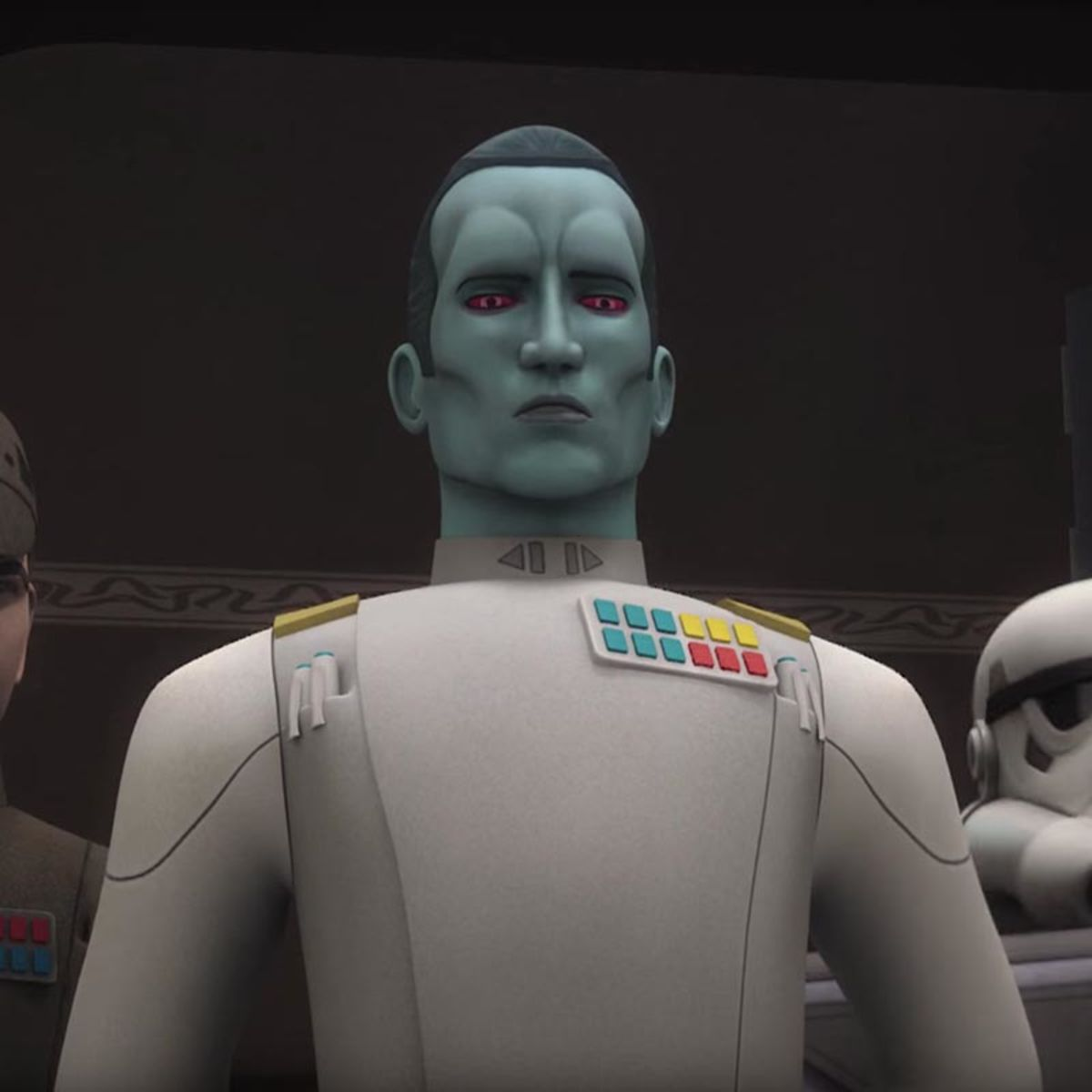Syfy - Star Wars Rebels teases more Thrawn for Season 4 | Star Wars ...