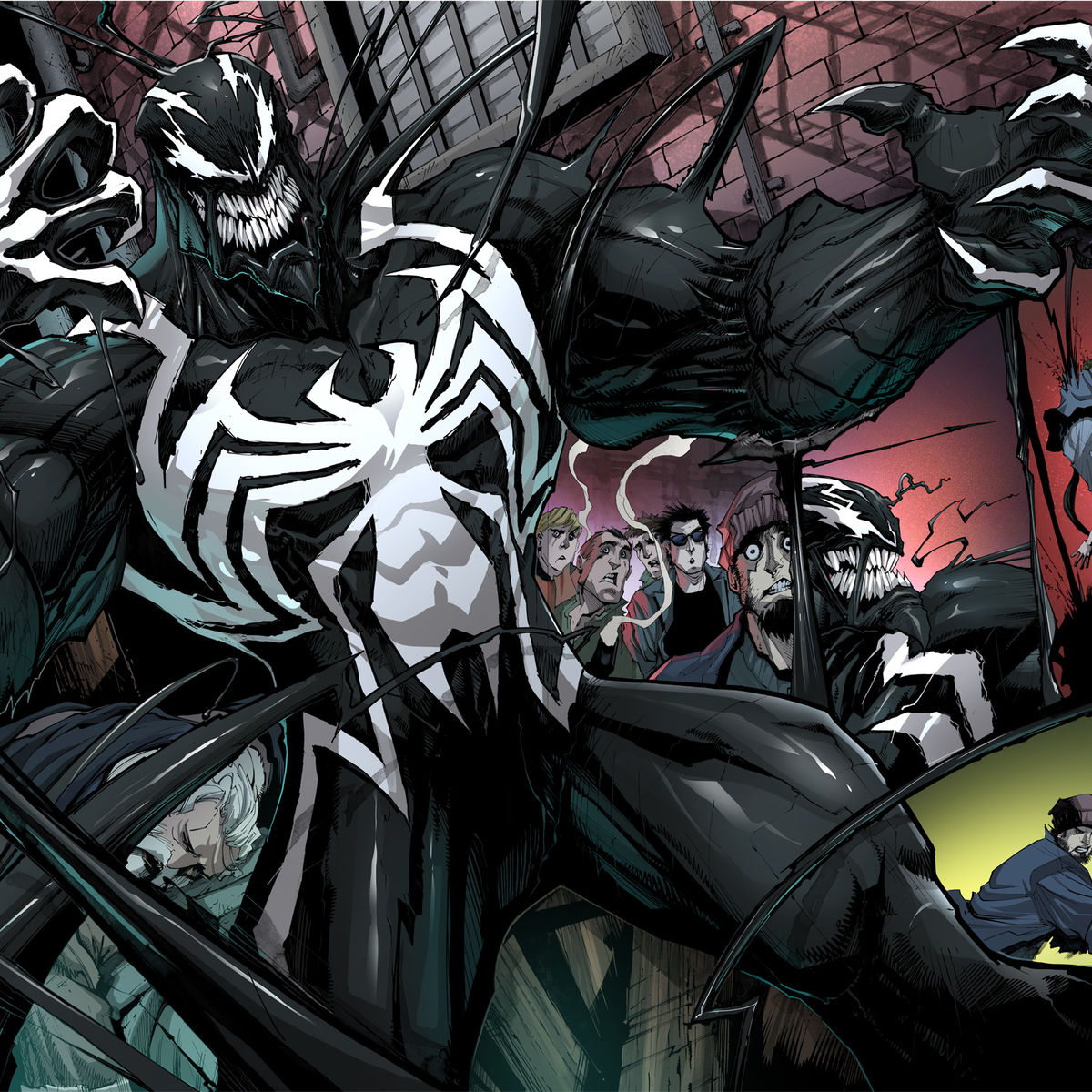 First Look At Marvel Comics Relaunched Venom But Whos Behind The Avengers Mask Batman