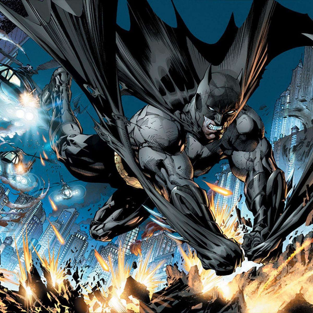Batman Comic New 52 Wallpaper 2