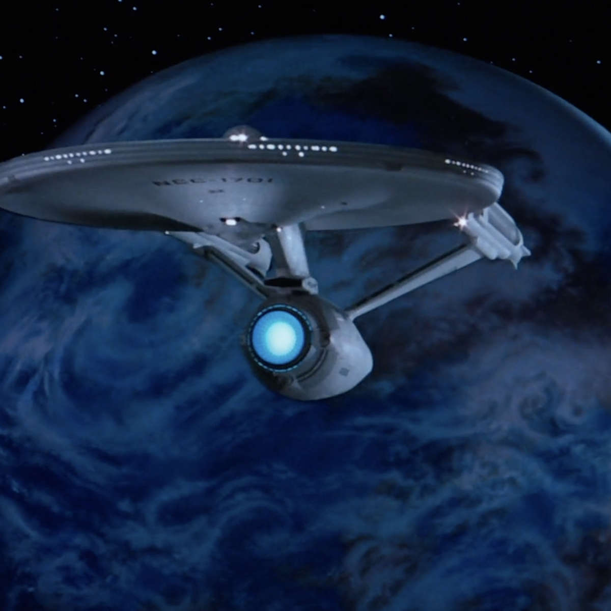 Enterprise and the Genesis planet