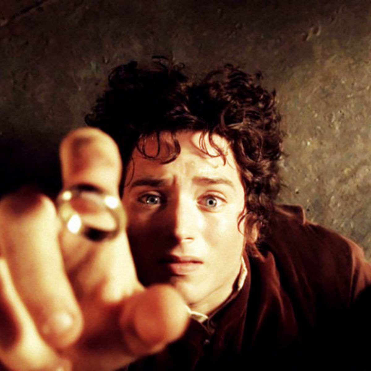 see frodo as gollum but why in never before seen lotr pic syfy wire