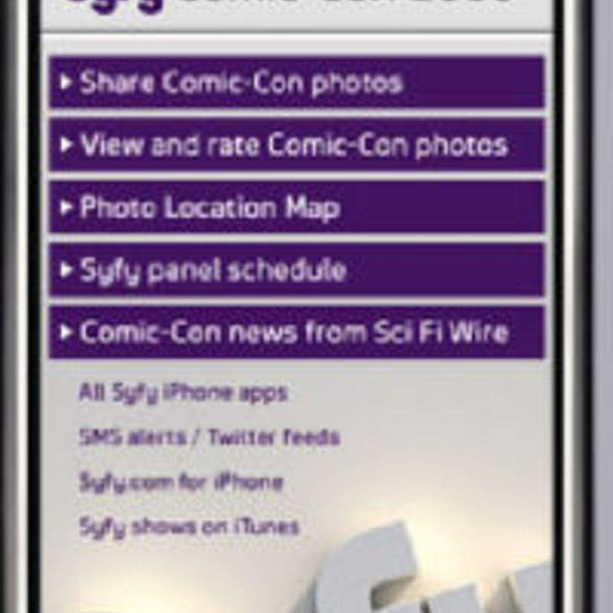 get the syfy comic-con iphone app for free! | syfy wire