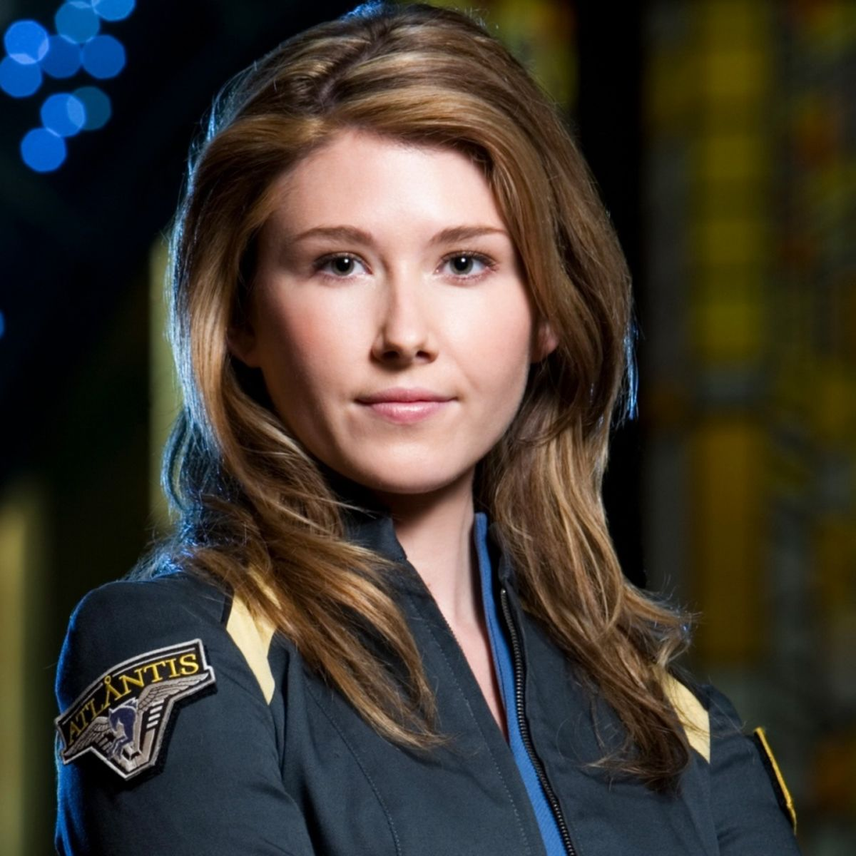 Jewel Staite on Stargate: Atlantis