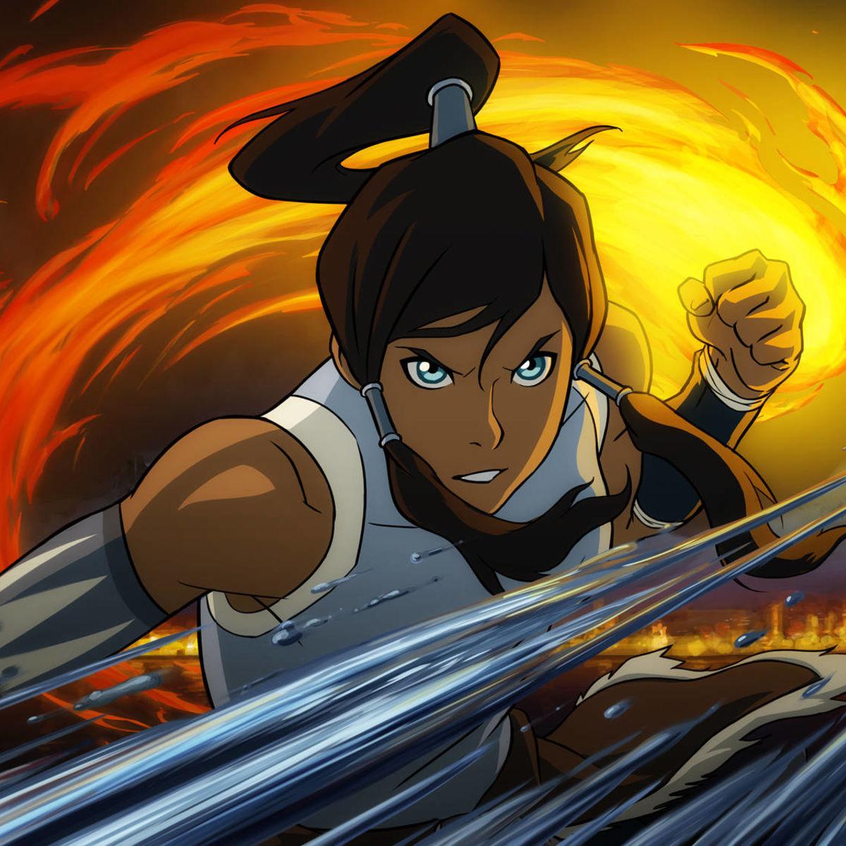 Avatar The Last Airbender Legend Of Korra And Their Assortment Badass Women