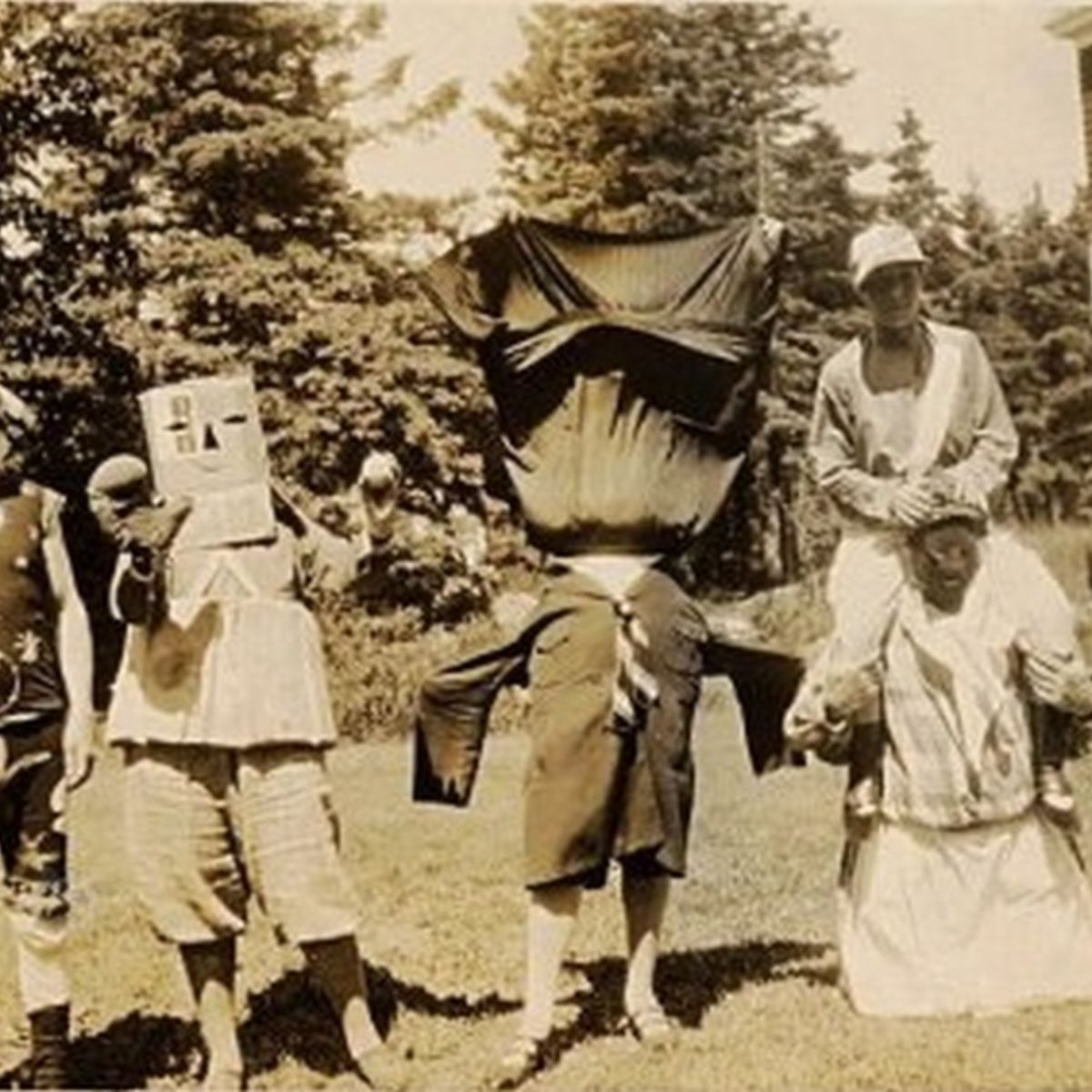 Old Timey Robot Costume
