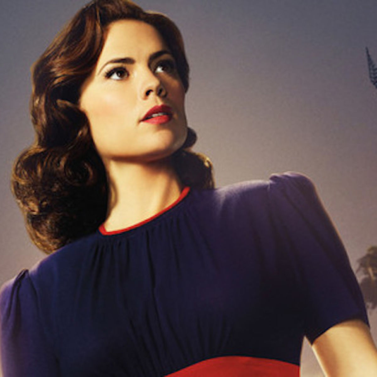 Hayley Atwell as Sharon Carter on Marvel's Agent Carter