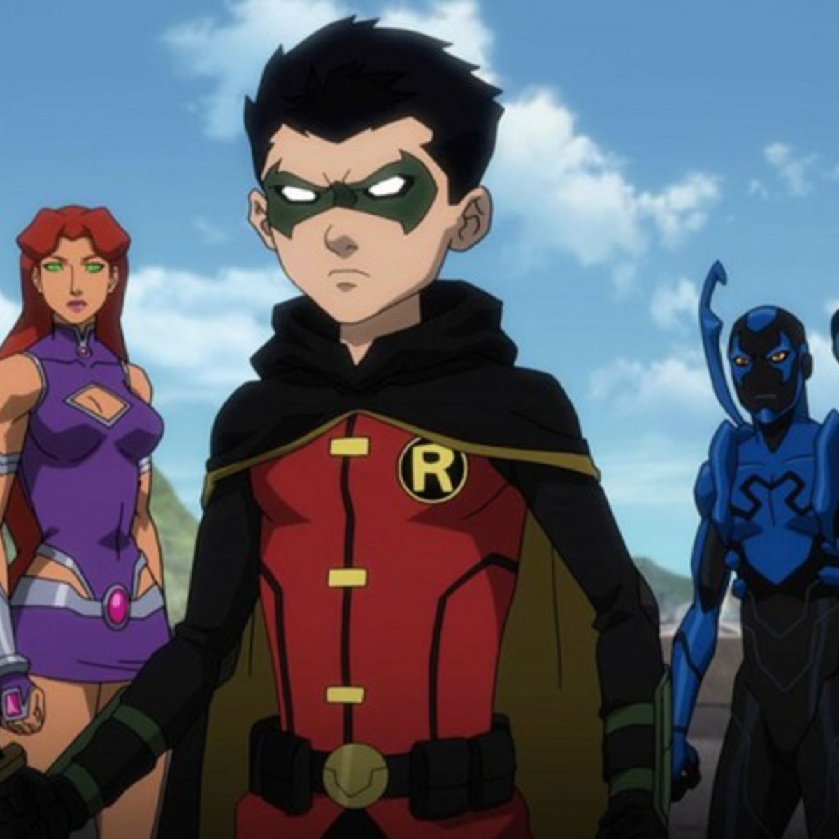 All The teen titans movie