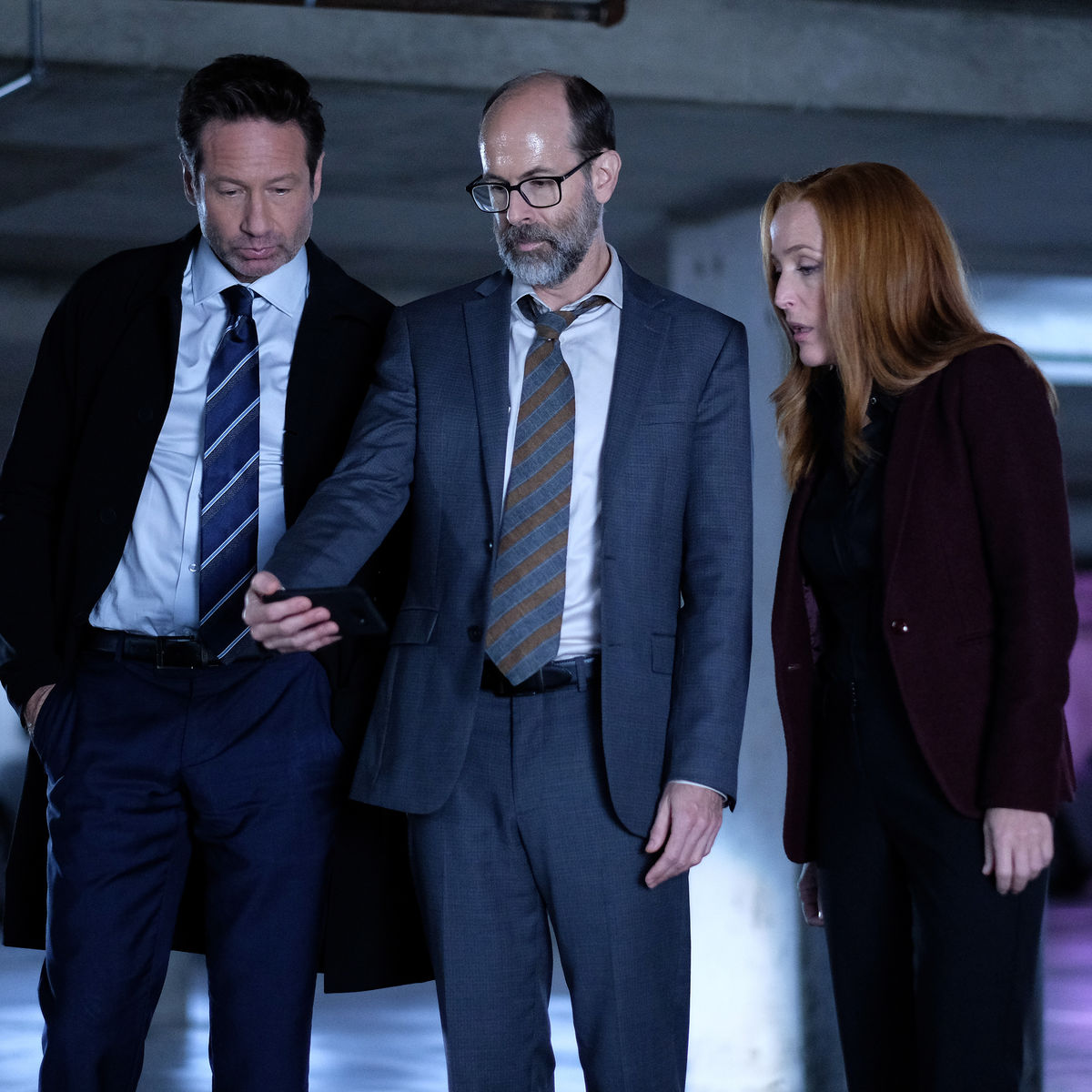 X-Files - The Lost Art of Forehead Sweat - Mulder Scully and Reggie