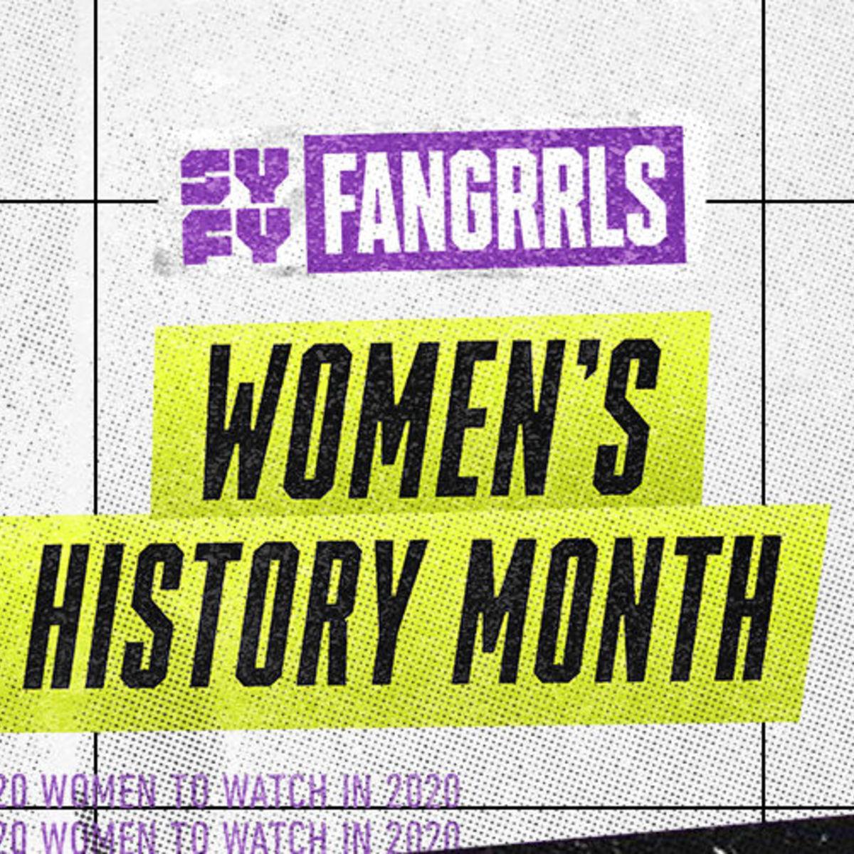 SYFY FANGRRLS Women's History Month