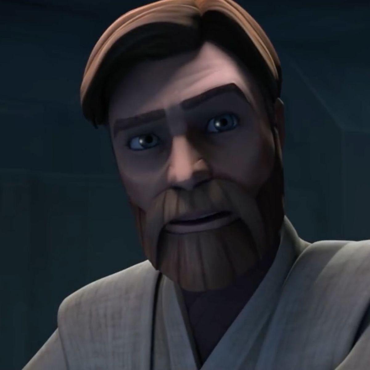 Obi-Wan Kenobi (James Arnold Taylor) on Star Wars: The Clone Wars