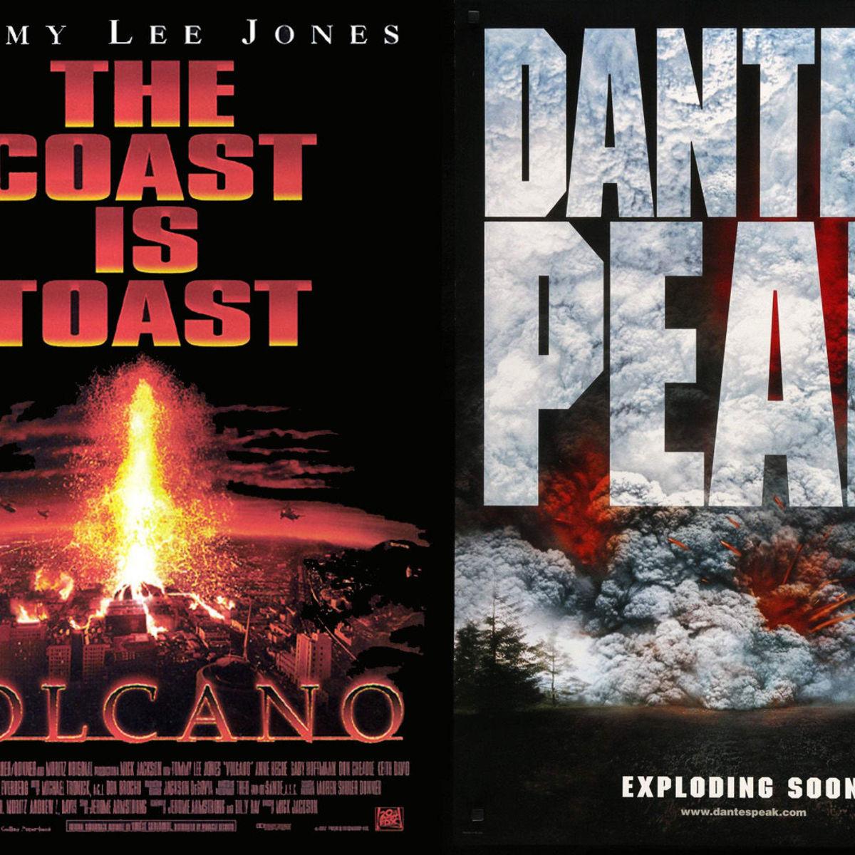 Volcano and Dante's Peak