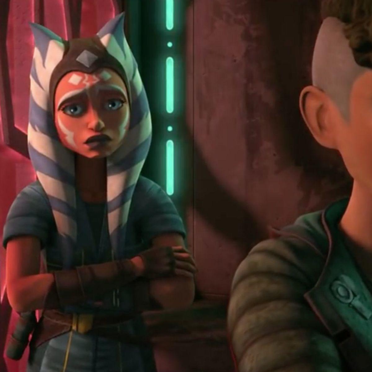 Ahsoka Tano and Trace Martez (Star Wars: The Clone Wars)