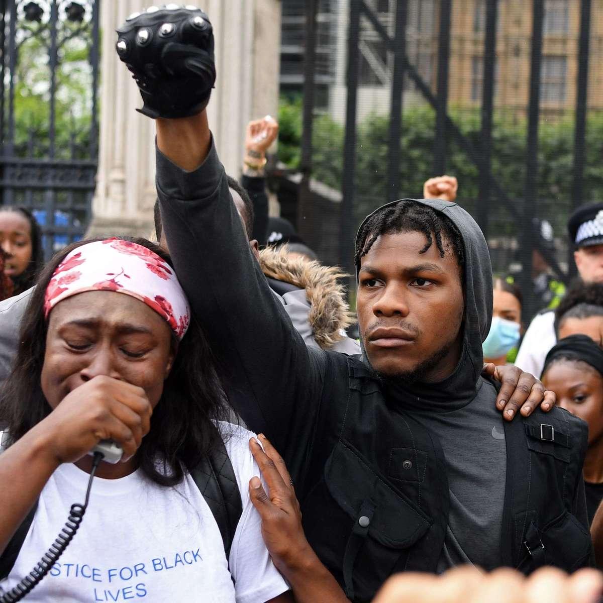 John Boyega protest Getty