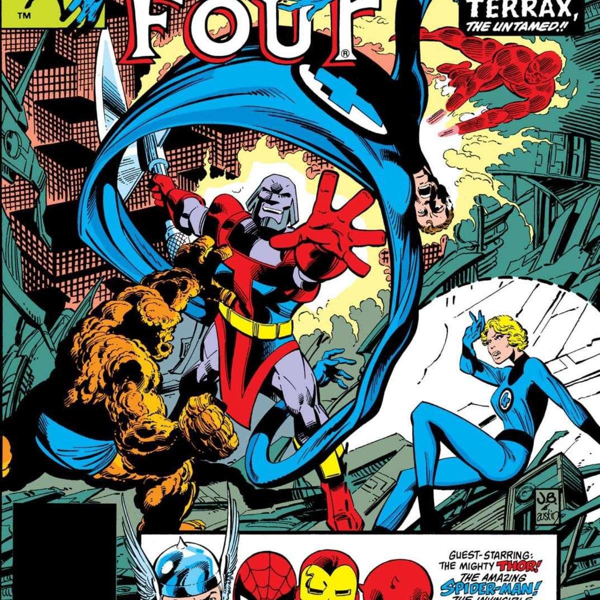 John Byrne's legendary Fantastic Four run