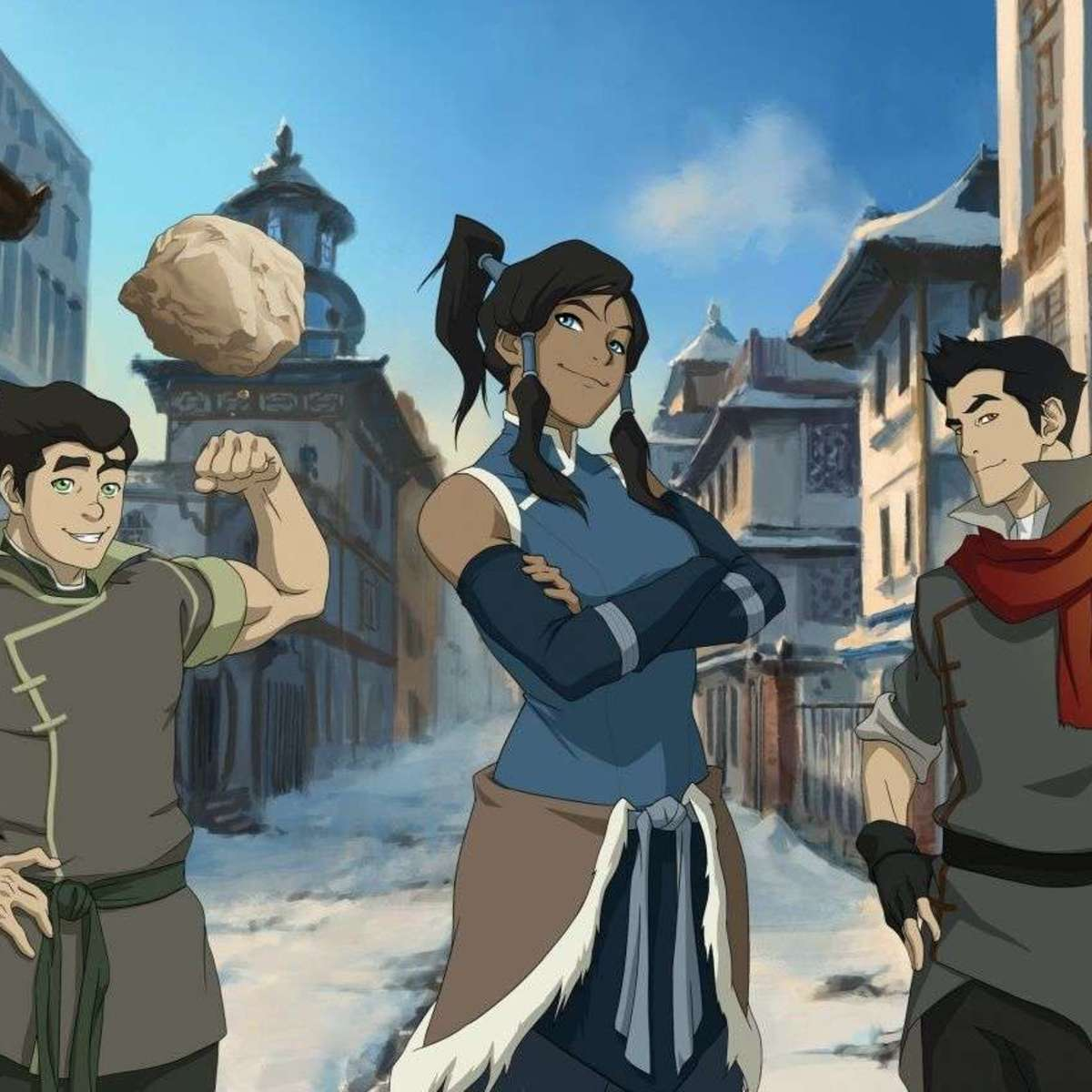 The Legend of Korra Promo Image