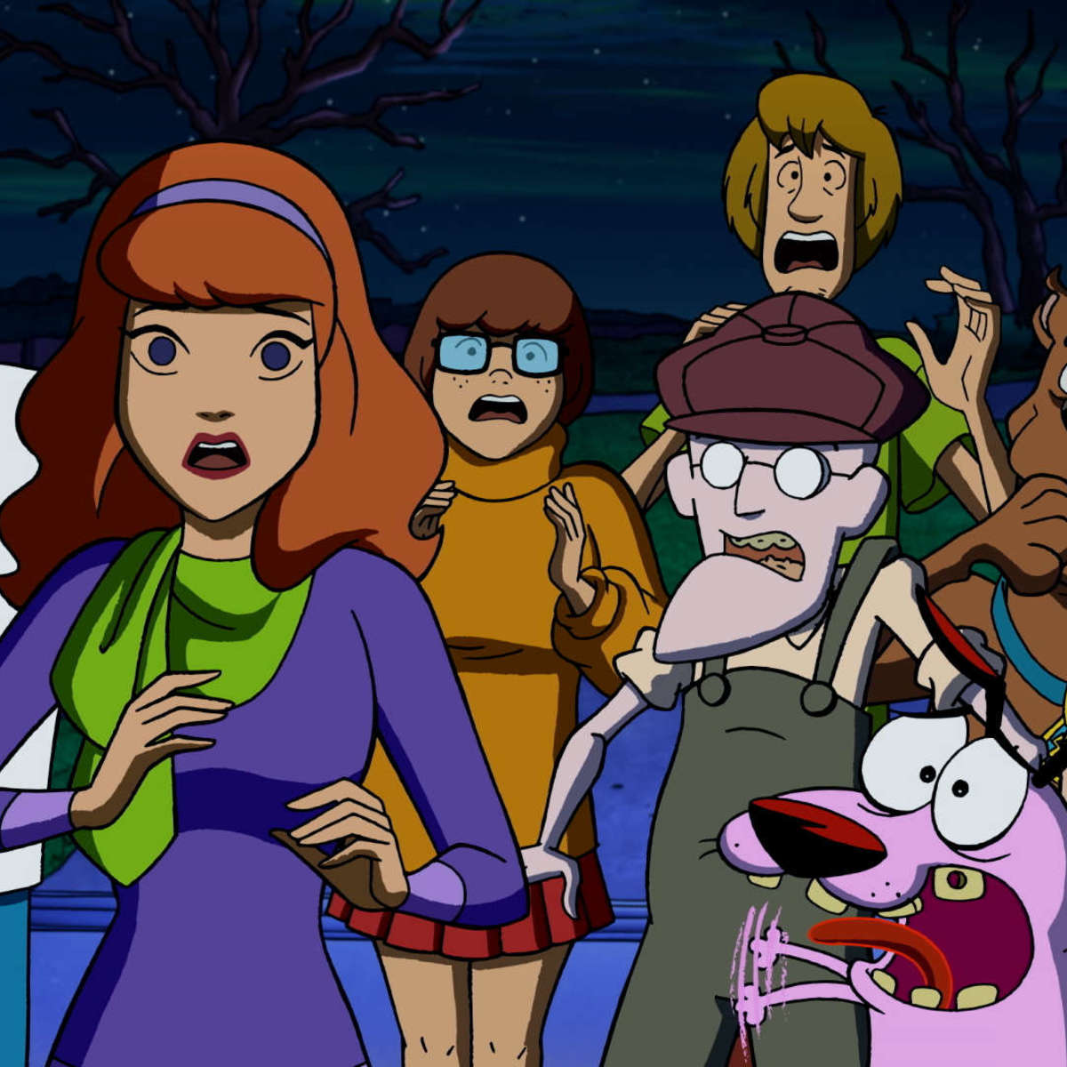Straight Outta Nowhere: Scooby-Doo Meets Courage the Cowardly Dog