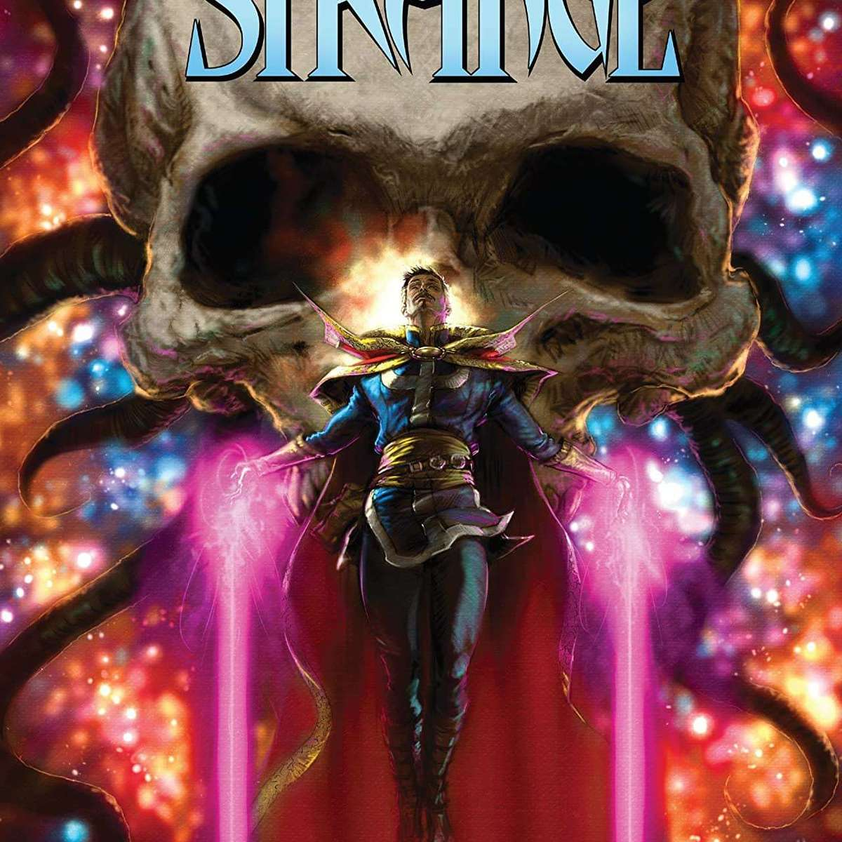 The Death of Doctor Strange Cover
