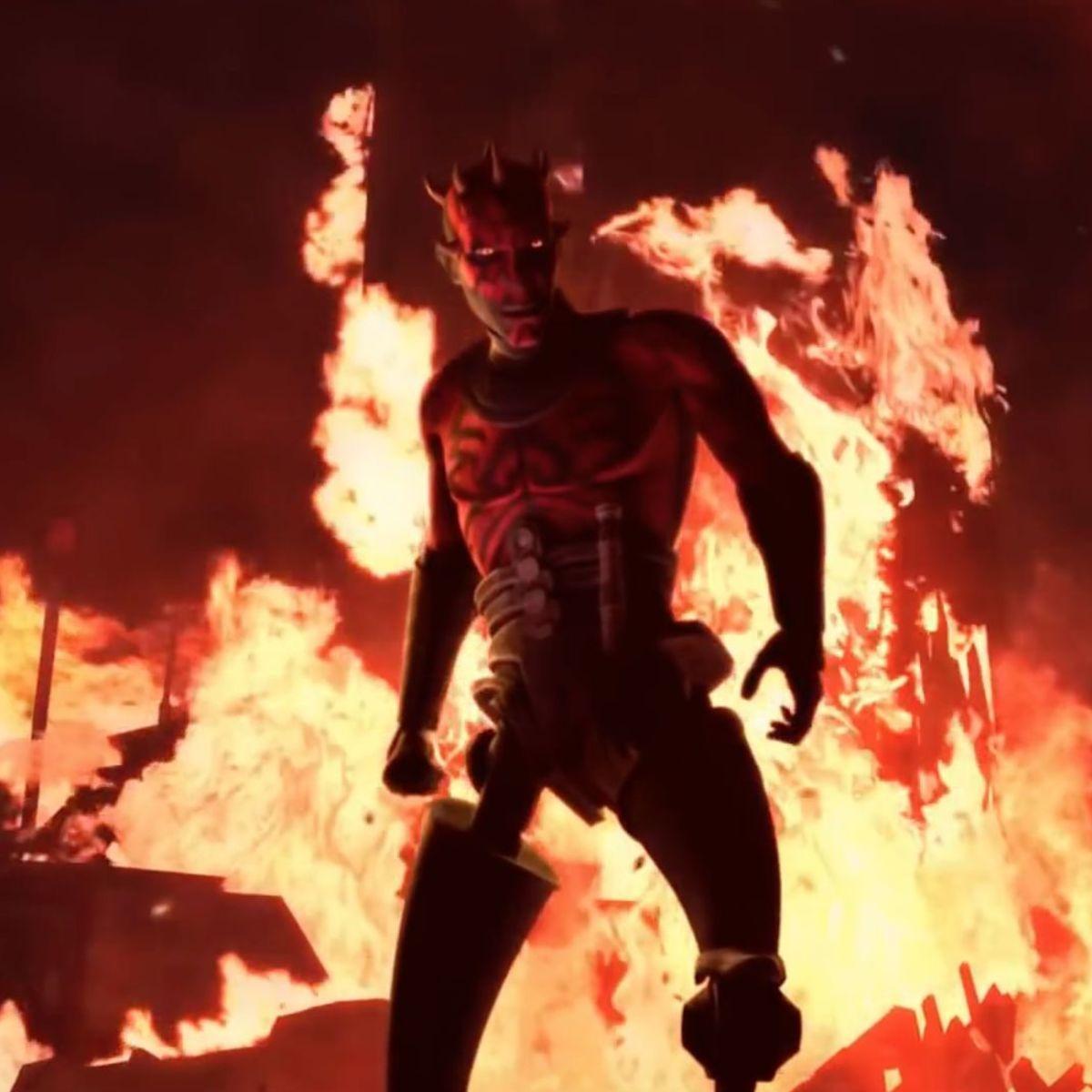 Maul returns in Star Wars: The Clone Wars