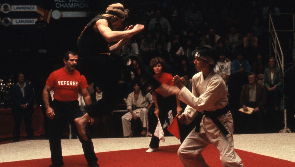 ca9c0573b The history of The Karate Kid's 'sweep the leg' scene and crane kick heard  'round the world