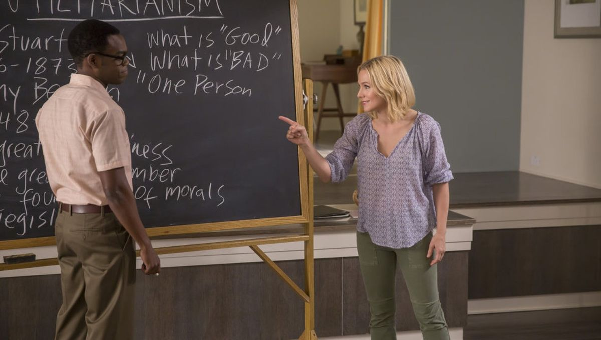 The Good Place, Eleanor and Chidi