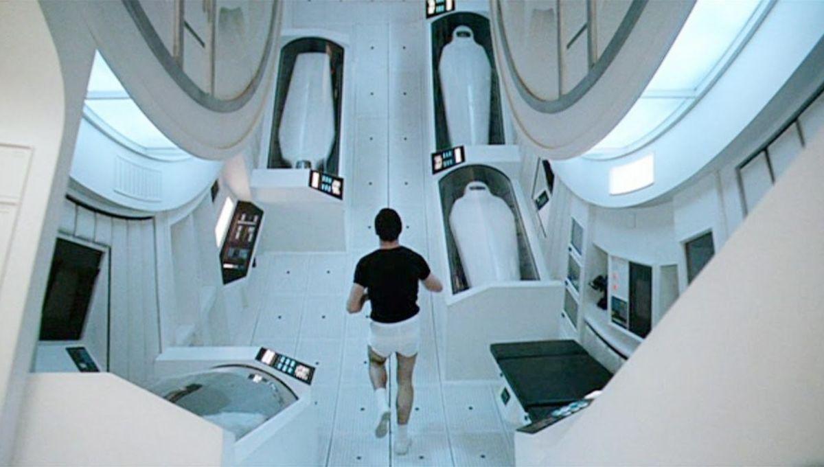2001 A space odyssey centrfuge                               jogging track
