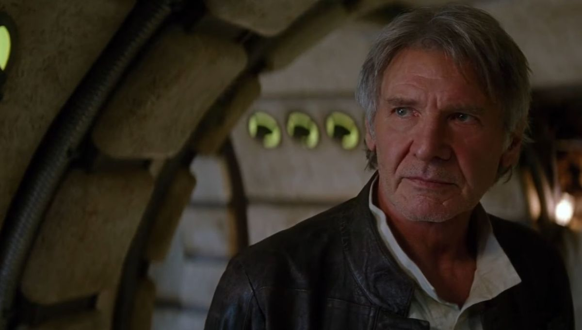 Harrison Ford finished with Star Wars