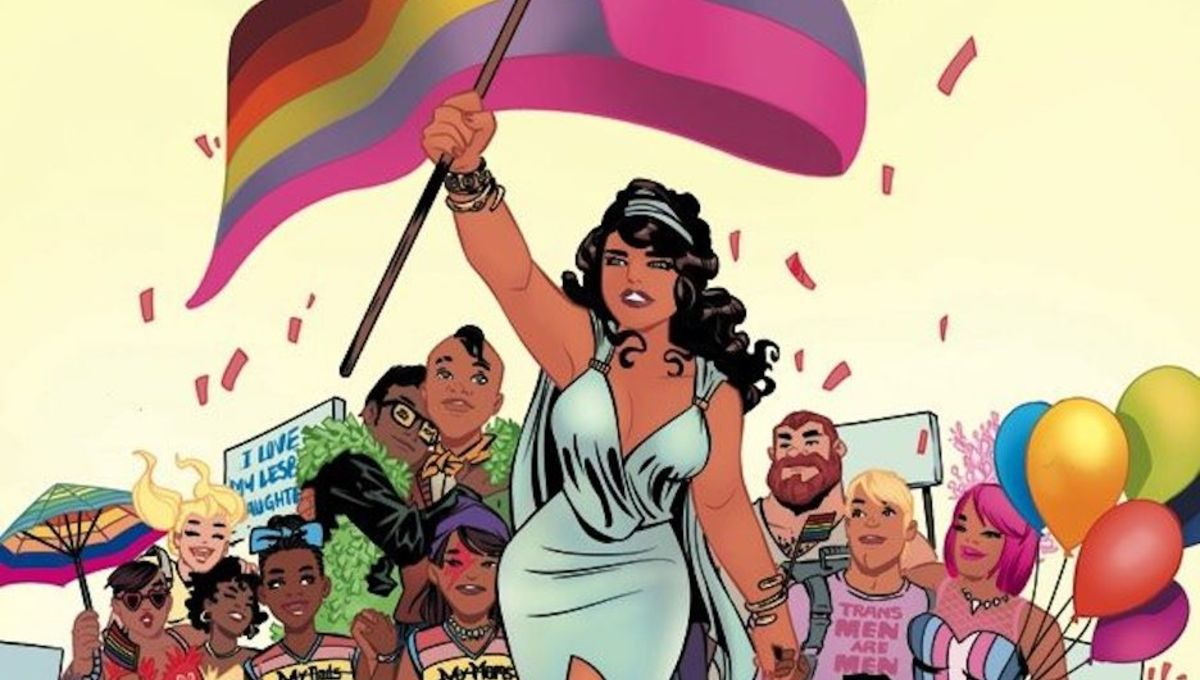 Stuff We Love: The sweet Harley and Ivy comic in the Love is Love anthology