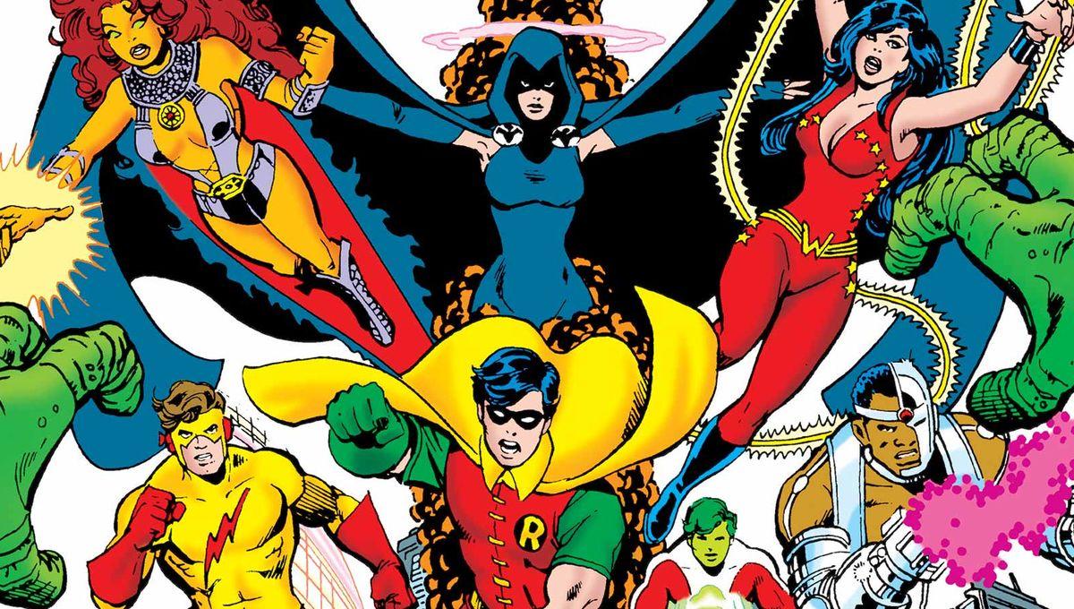「George Perez Teen Titans」的圖片搜尋結果