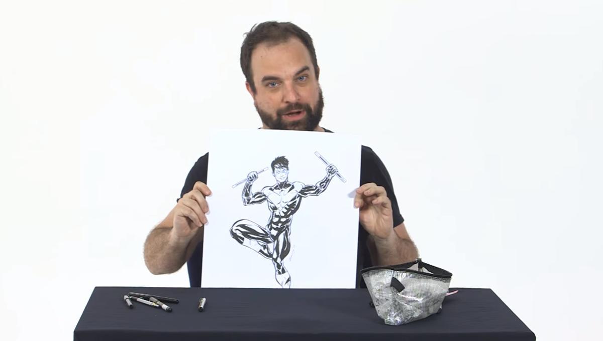 Nightwing, Tim Seeley, Sketch