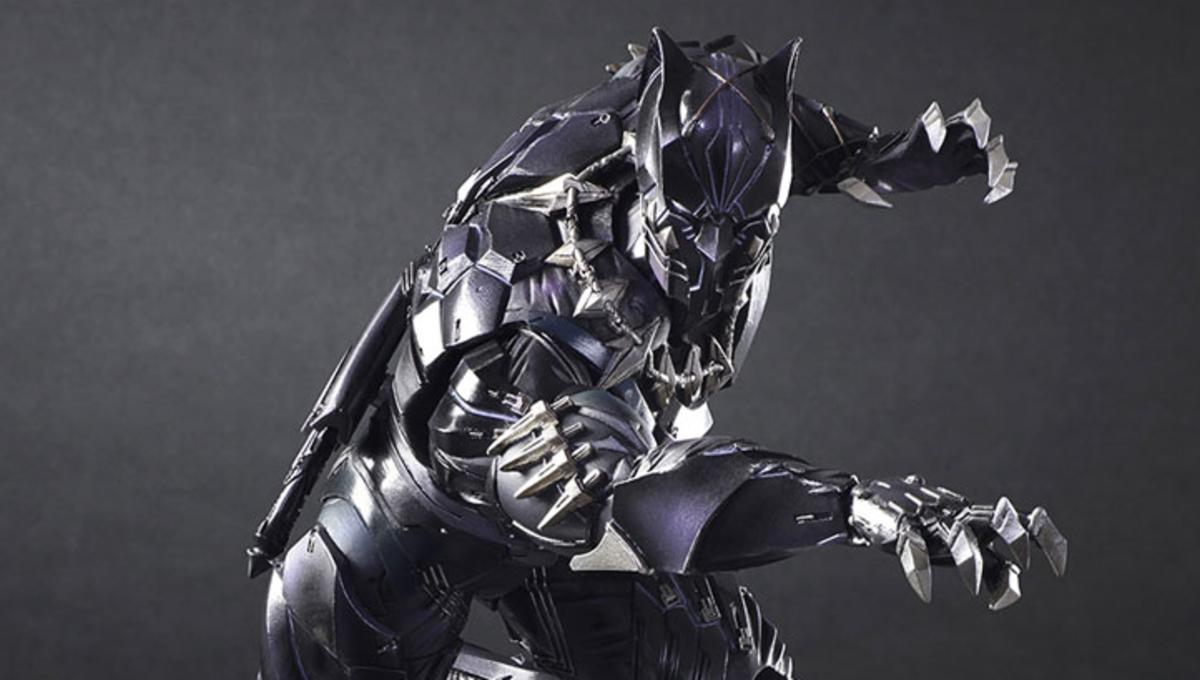 9204a6aa Put your paws together for Square Enix's killer new Black Panther ...