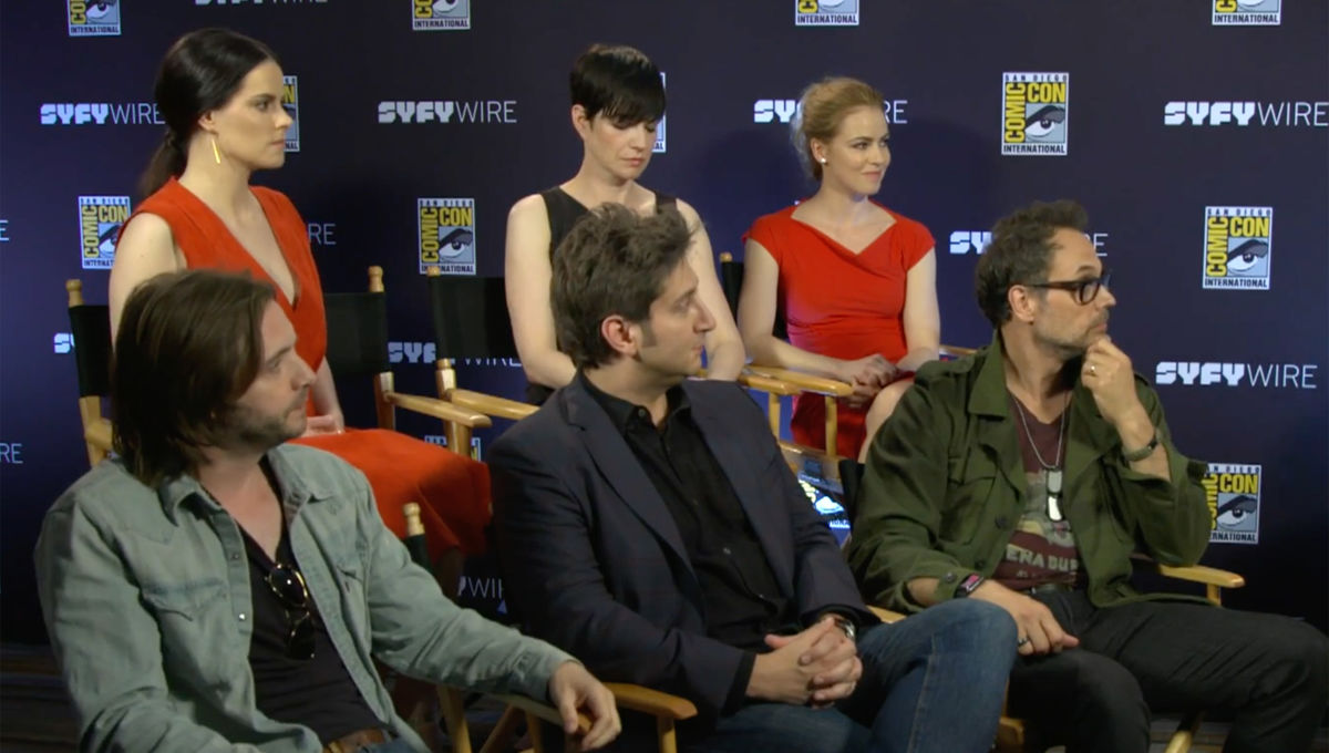 The Wire Season 4 Cast | Watch 12 Monkeys Cast And Crew Tease Season 4 And Saying Goodbye