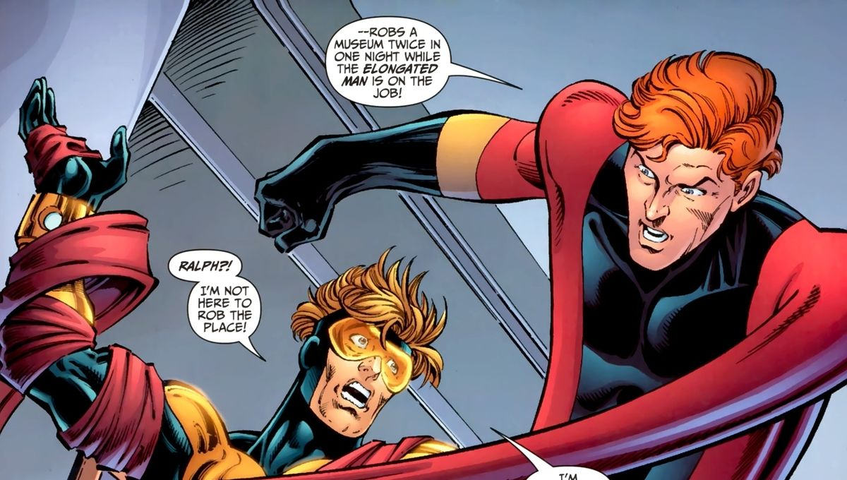 Rumor Of The Day Elongated Man The Thinker Coming To The Flash