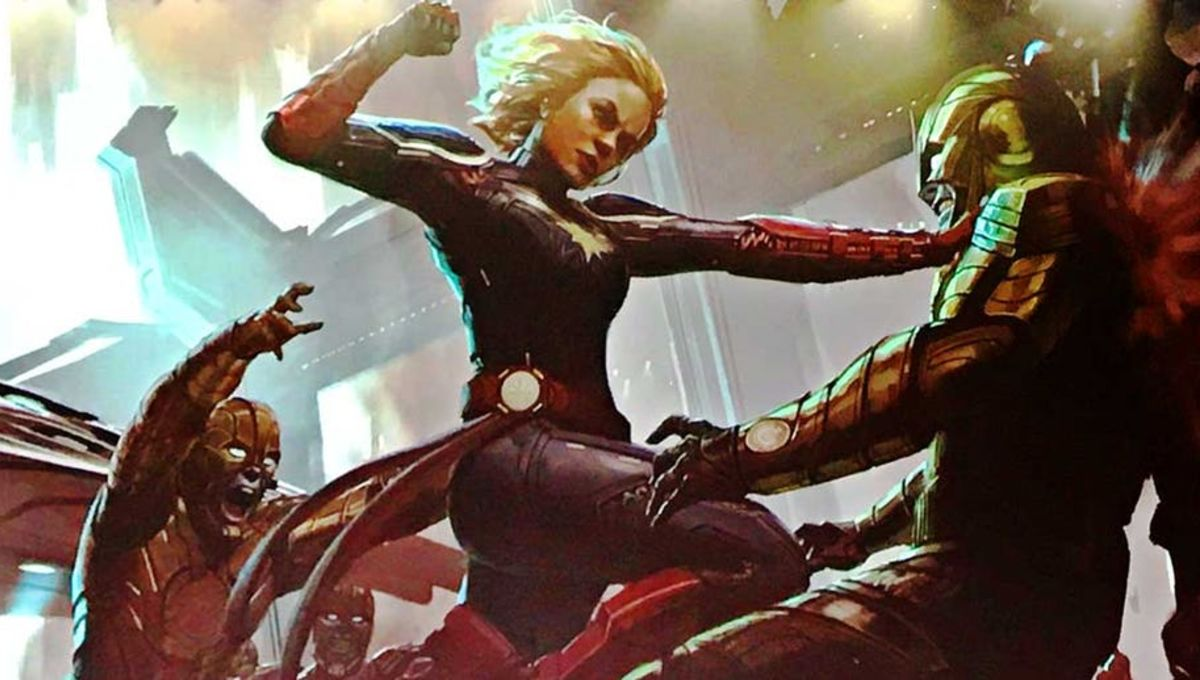 Captain Marvel Unveils First Look At Big Screen Skrulls Syfy Wire