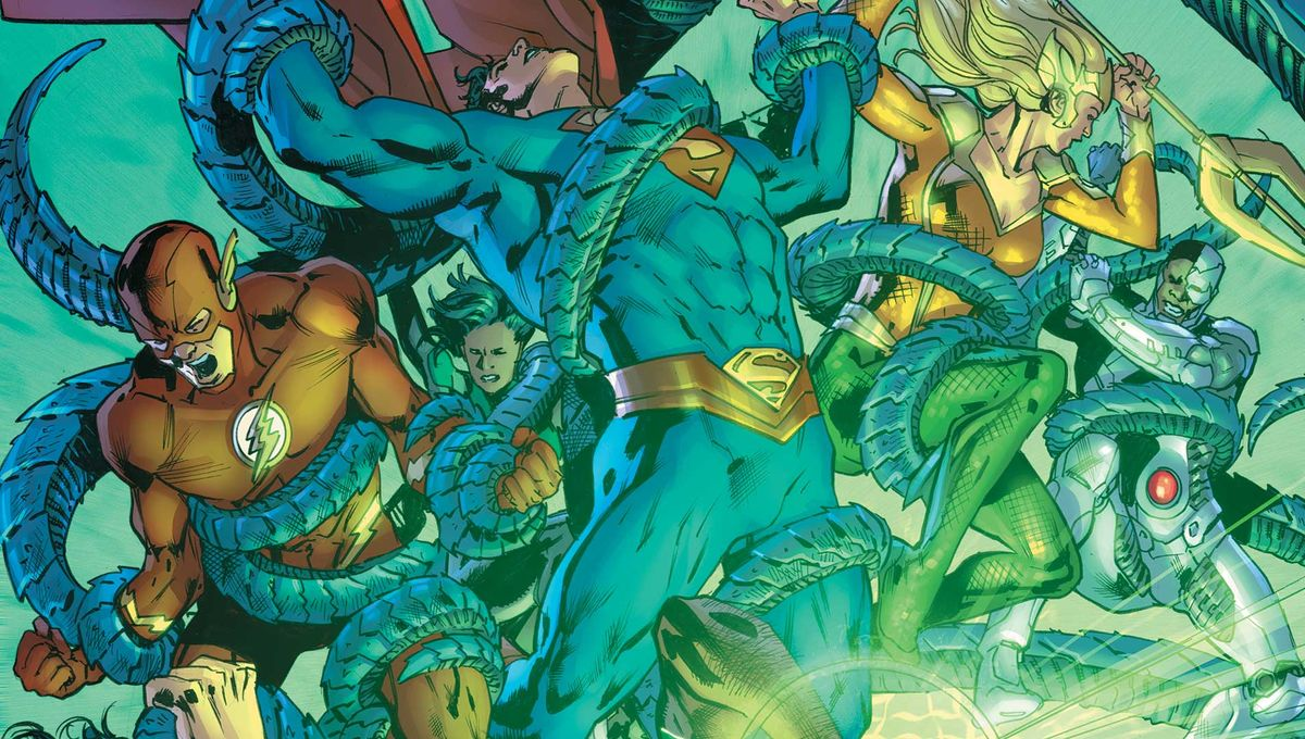 Justice League will take On Justice League From Alternate Universe in Justice League #25