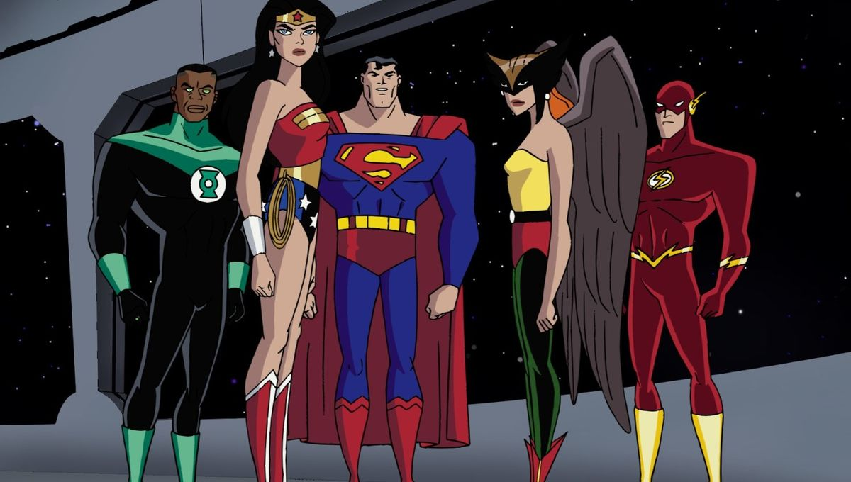 Cast of the early 2000's Justice league animated series ...