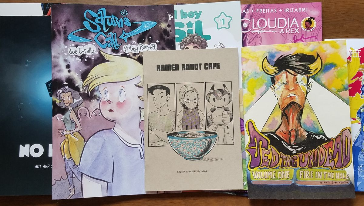 8 books I bought from Flame Con to sate my need for LGBT indie books